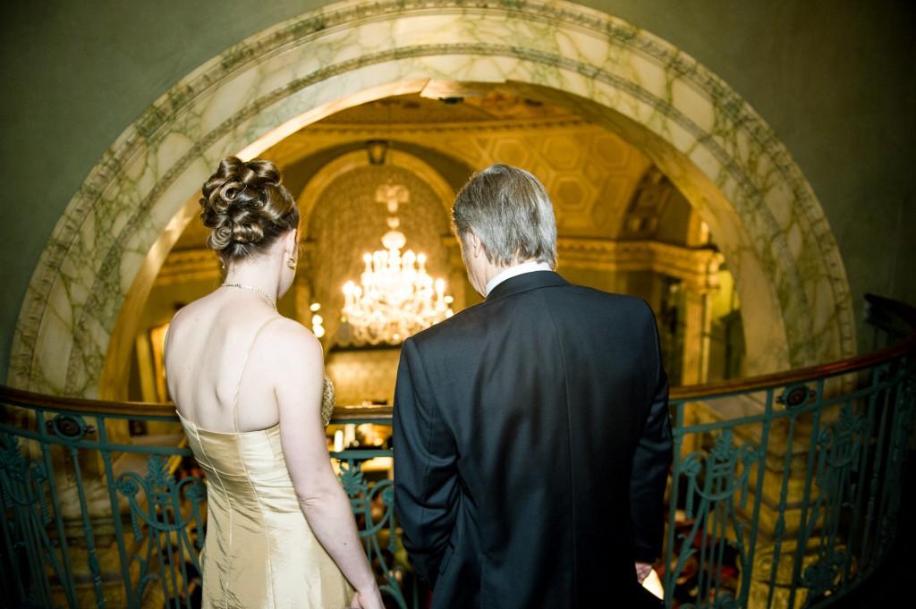 Leandra Ramm picture with Robert DeGaetano in Steinway Hall Take Ten