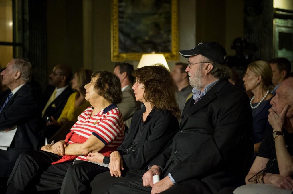 Leandra Ramm picture with Robert DeGaetano in Steinway Hall Take Six