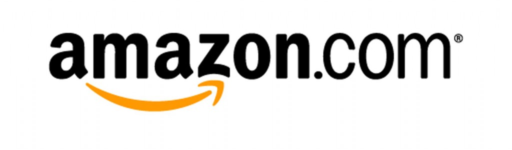 Amazon.com logo with black lettering on white background