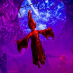 Celebrity Cruise Lines - Solstice, Leandra flying and wearing red costume Take One