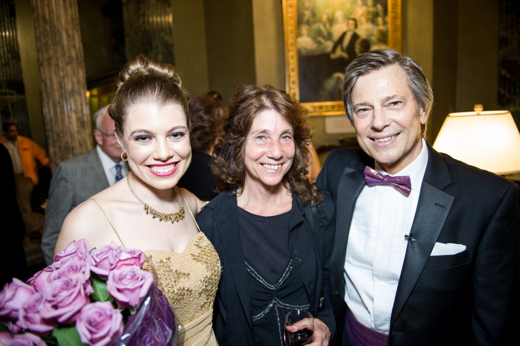 Leandra Ramm picture with Robert DeGaetano in Steinway Hall Take Four
