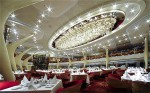 Dining Hall inside Celebrity Silhoutte Cruise Ship